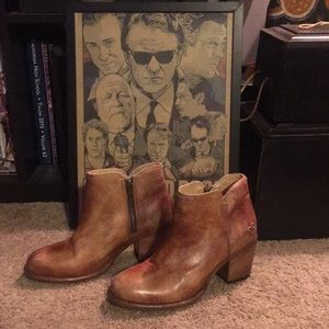 Woman's leather sz 8 1/2 Bed Stu brown boots 8.5
